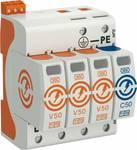 Contrôleur combi de OBO V50 V50-3+NPE+FS-280 3 pôles m. NPE+FS 280V