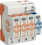 Contrôleur combi de OBO V50 V50-3+NPE-280 3 pôles m. NPE 280V