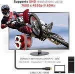 Câble Club 3D DisplayPort 1.4 HBR3 8K mâle/mâle 4 mètres