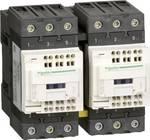 Combinaison de contacteurs réversibles, 3p+1S+1Ö, 30kW/400V/AC3 65A, bobine 24V 50/60Hz