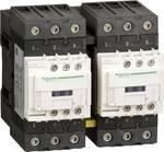Combinaison de contacteurs réversibles, 3p+1S+1Ö, 30kW/400V/AC3 65A, bobine 42V 50/60Hz