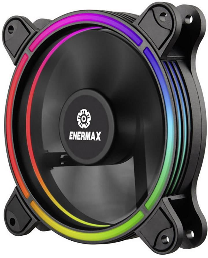 Ventilateur pour PC Enermax 6x Kit T.B. RGB UCTBRGB12 BP6 noir, RVB (l x h x p) 120 x 120 x 25 mm 1 pc(s)