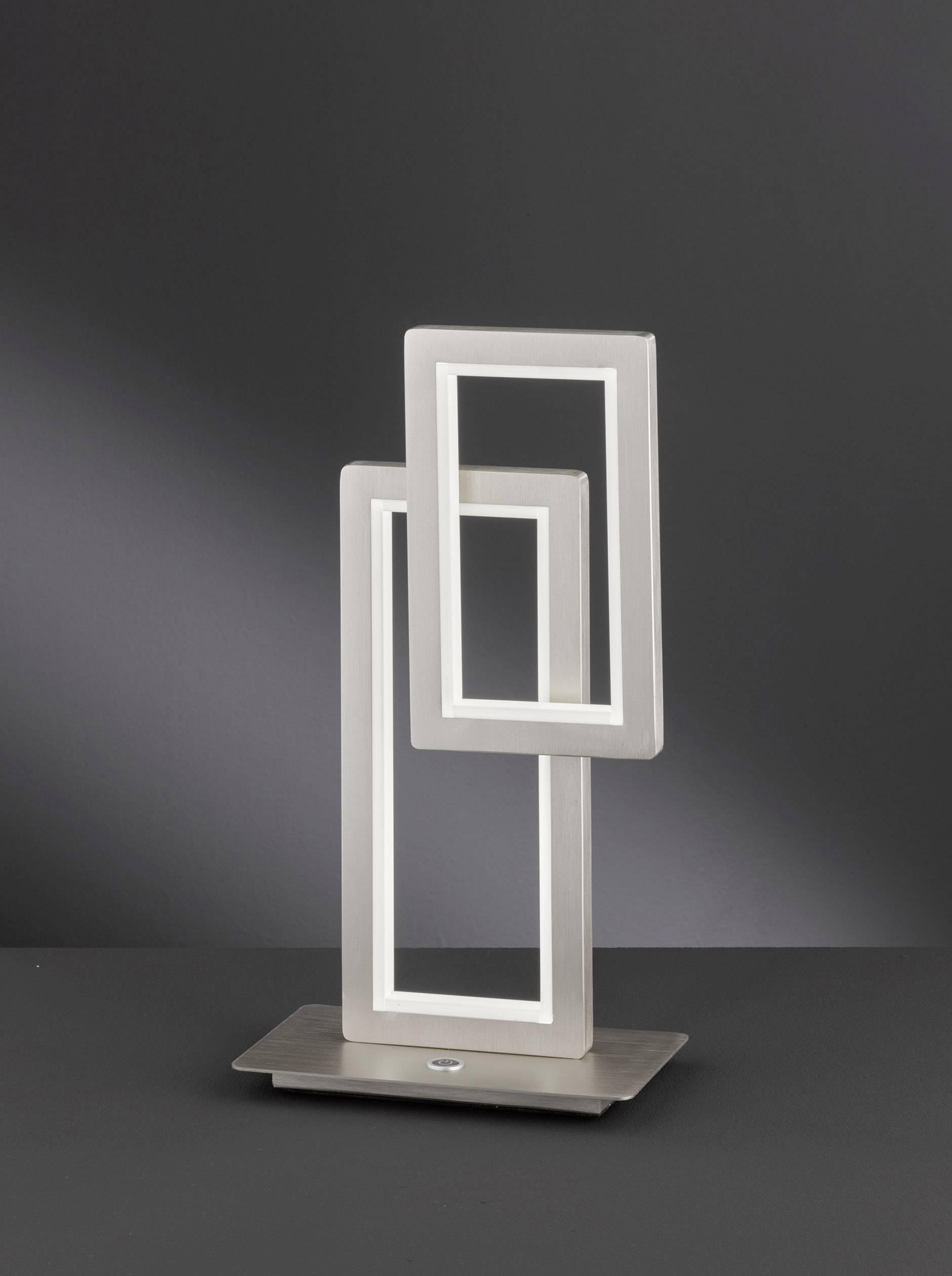 Lampe A Led De Table 18 W X Led Integree Blanc Chaud Wofi Viso
