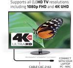 Mini DisplayPort Club 3D sur DisplayPort 1.2 4K60Hz câble UHD 2 mètres=bidirectionnel =