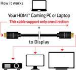 Câble Club 3D HDMI 2.0 4K60Hz RedMere ® 10 mètres