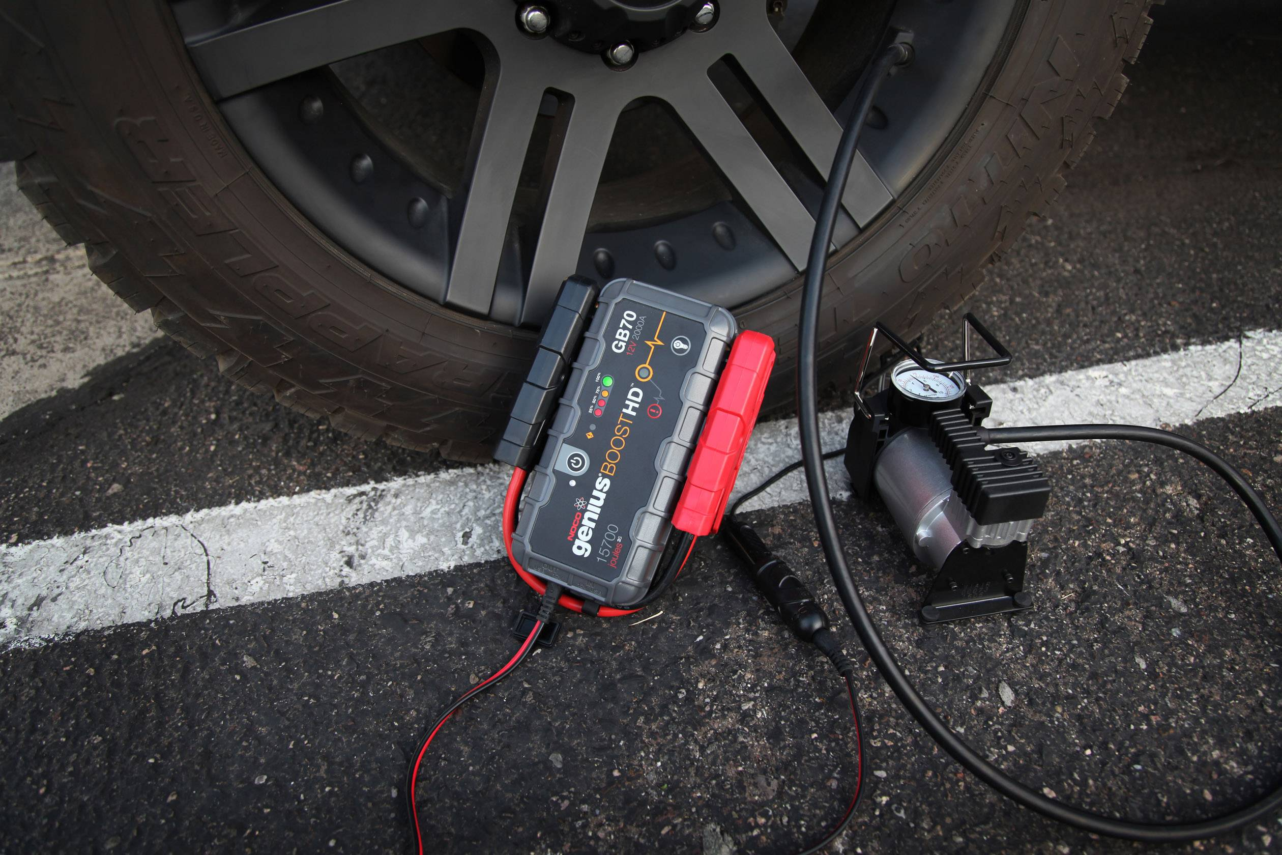 NOCO Boost HD GB70, 12V 2000A Booster Batterie Voiture