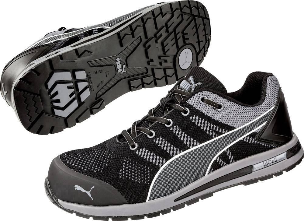 Chaussures de sécurité ESD S1P PUMA Safety Elevate Knit Black Low 643160 41 Taille: 41 noir, gris 1 paire(s)