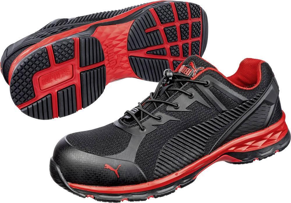 Chaussures de sécurité ESD S1P PUMA Safety FUSE MOTION 2.0 RED LOW 643890 44 Taille: 44 noir, rouge 1 paire(s)