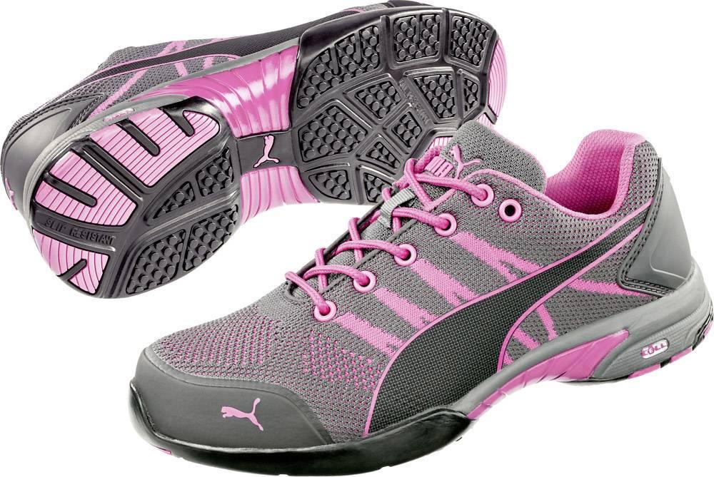Chaussures de sécurité S1 PUMA Safety Celerity Knit Pink 642910 42 Taille: 42 gris, rose 1 paire(s)