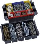 Mini-systainer Tanos T-Loc III pour petites pièces avec : bac pour MINI-systainer ® T-Loc III / plateau pour outils à 5 compartiments