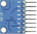 Module d'accélération 6 axes/Gyroskp I2C