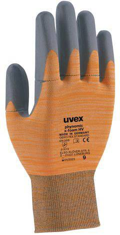10x Uvex Protection Gant phynomic XG Taille 810er Paire