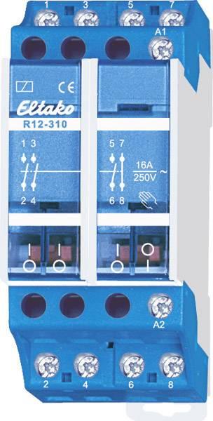1 pc Relais de commutation Eltako R12-100-12V DC Tension nominale: 12 V Courant de commutation T : 8 A 1 NO max. s