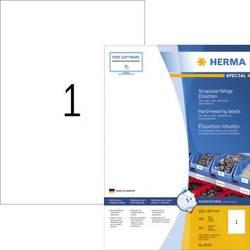 HERMA 8335 Blanc Imprimante d/étiquette adh/ésive /étiquette /à imprimer Blanc, Imprimante d/étiquette adh/ésive, A4, Polyester, Laser, Permanent /Étiquettes /à imprimer