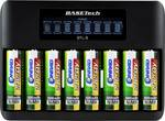 Chargeur pour piles LR6 (AA)/LR3 (AAA) BTL-8 Basetech