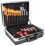 Assortiment d'outils VDE dans une mallette - 74 pièces