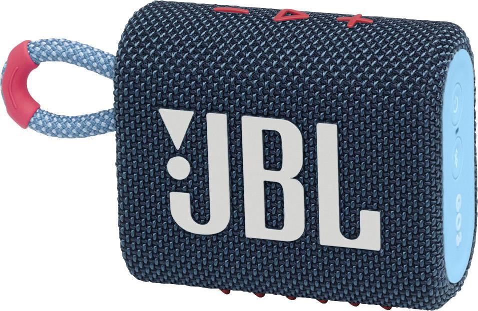 ENCEINTE BLUETOOTH JBL GO3 BLEU ET ROSE IP67