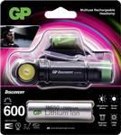 Lampe frontale GP Discovery CH35 : lampe frontale LED polyvalente compacte et lampe de poche rechargeable