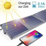 Chargeur solaire CT-ST004 14 W.