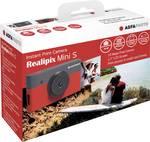 Caméra d'impression instantanée AgfaPhoto Realipix Mini S, noir et rouge