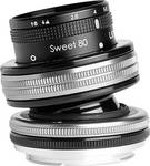 Lensbaby composer Pro II avec optique Sweet 80 pour Nikon Z