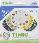 SET de disques TIMIO 3 avec 5 disques audio magnétiques