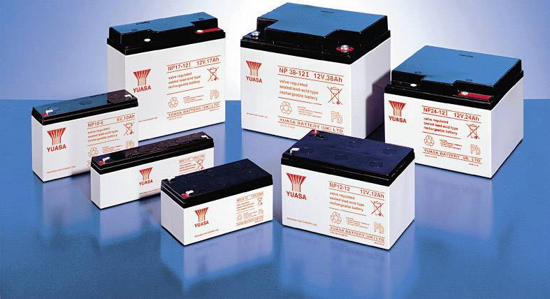 Batterie s Batterie plomb AGM NP2.1-12FR 12V 2.1Ah YUASA