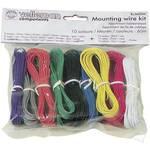 Fil de câblage Velleman K/MOW 1 x 0.20 mm² multicolore 1 set