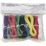 Fil de câblage Velleman K/MOWM 1 x 0.20 mm² multicolore 1 set