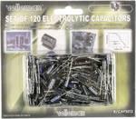 Assortiment de 120 condensateurs électrolytiques