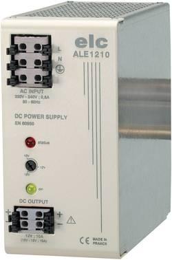 Alimentation RAIL DIN stabilisée ELC ALE1210 12 V/DC 10 A 120 W
