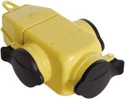 Bloc multiprise 3 prises EB3WP jaune
