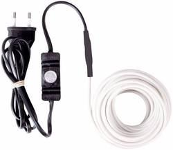 Câble chauffant 12 m Perel 120-0T 10 W blanc