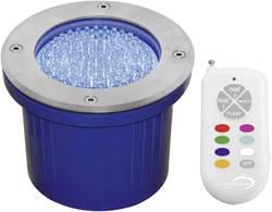 Spot LED extérieur encastrable LED intégrée Lumihome rouge, vert, bleu