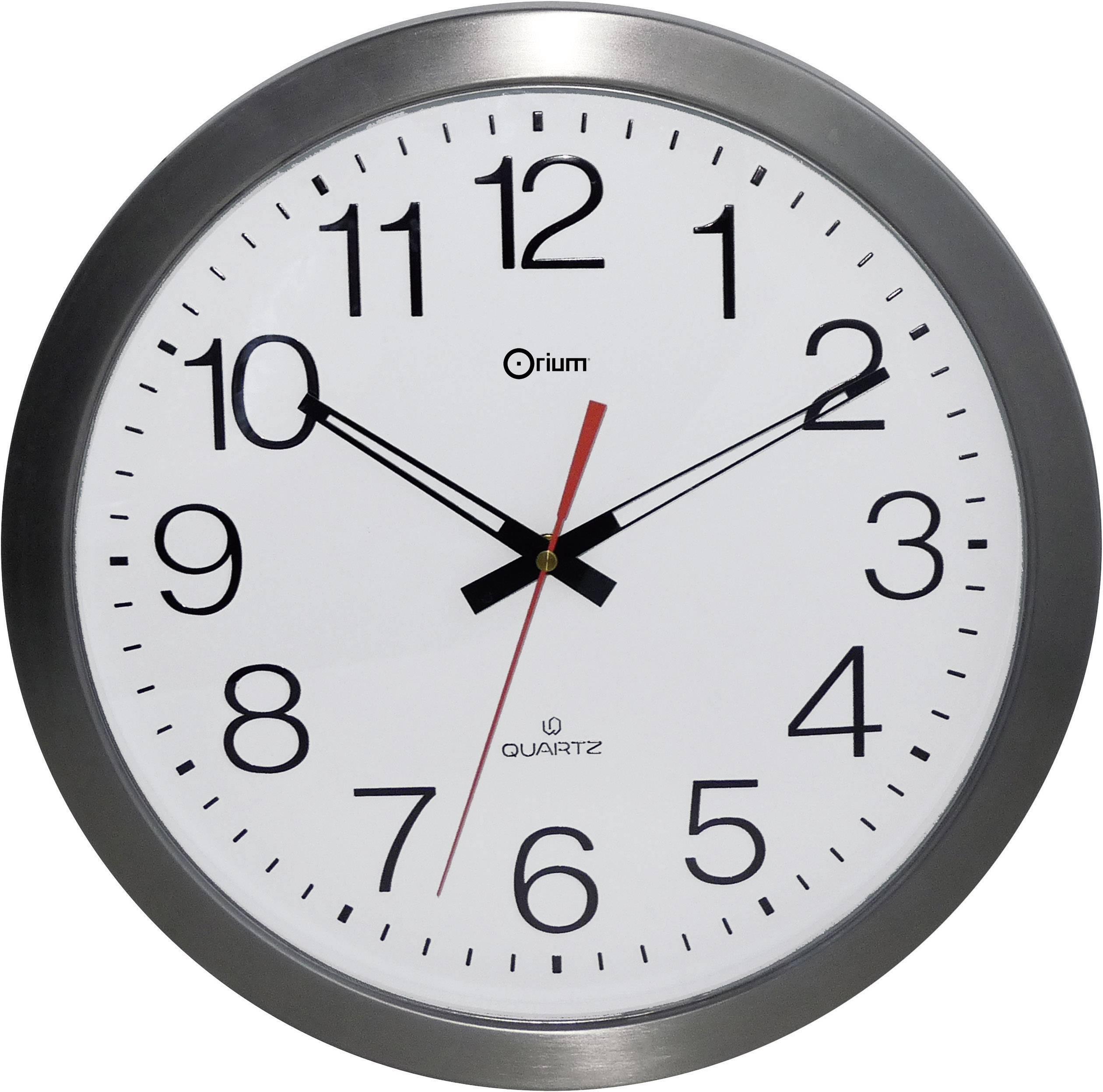 Horloge murale Orium 11385 35 cm x 4.5 cm acier inoxydable radiopiloté(e) 1 pc(s)