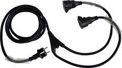Câble rallonge Franelec CPH073M1,5+2X0,5 noir