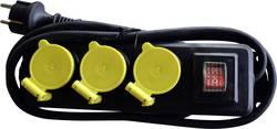 Multiprise avec interrupteur 3 prises Franelec BM3-H07-ETN1SW noir