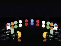 Guirlande guinguette extérieure 5 couleurs Velleman XMPL10RGB E27 0.5 W