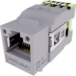 connecteur rj45 embase femelle gris 8 8 cat 6 mmc bc6an. Black Bedroom Furniture Sets. Home Design Ideas