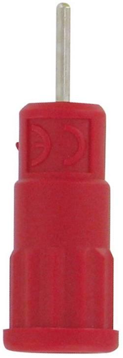 Douille de sécurité Ø de la broche: 4 mm Electro PJP 5287-IV femelle, droit rouge 1 pc(s)