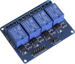 Carte relais 5 V 4 canaux SMTRELAY04