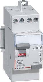 Interrupteur différentiel Legrand LEG 411611 Taille du fusible=2 40 A