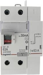 Interrupteur différentiel Legrand LEG 411633 Taille du fusible=3 63 A Type=AC Vis/Auto