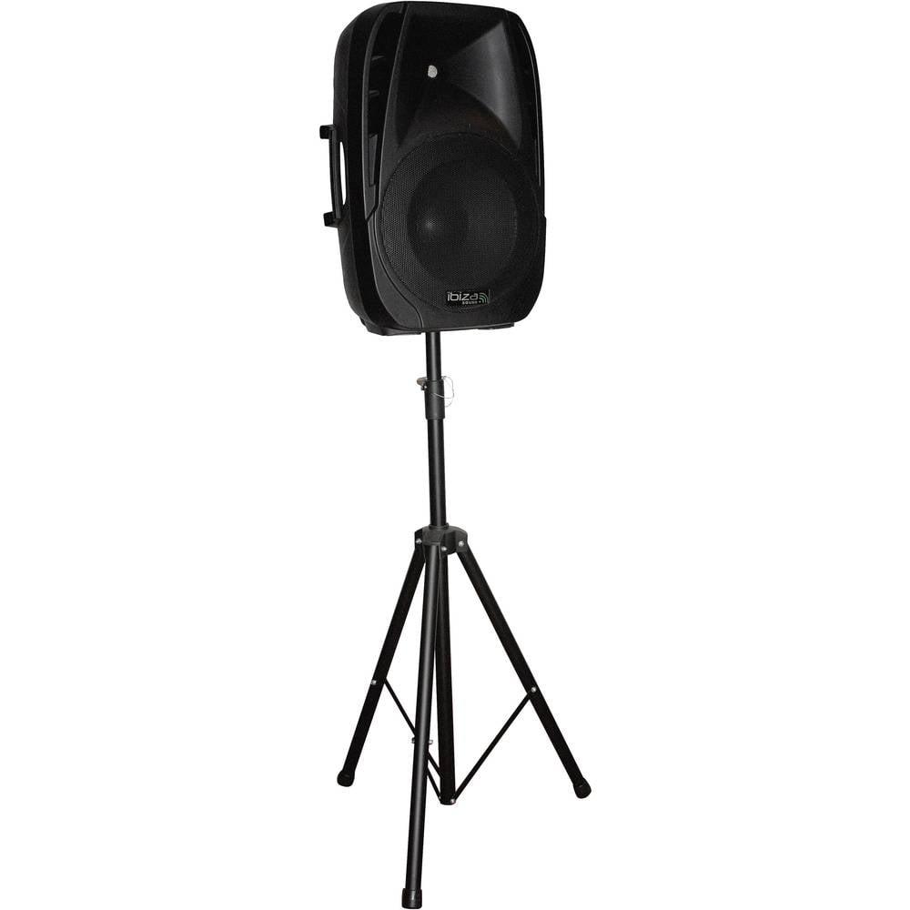 enceinte portable active 15 38cm 500w usb sd bluetooth ibiza sound. Black Bedroom Furniture Sets. Home Design Ideas