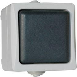 interrupteur de surface gris 38234