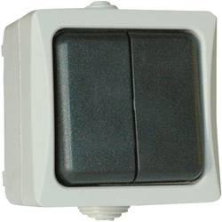 interrupteur de surface gris 38236