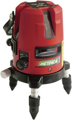 Laser à lignes autonivelant Metrica 60807 Portée (max.): 15 m Etalonné selon: d'usine (sans certificat)