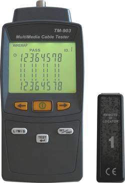 Testeur de câbles réseaux et multimédias SEEIT TM-903 + mesure de longueur de câbles