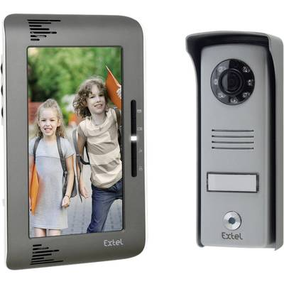 EXTEL Visiophone Up 2 fils écran couleur verticale 7\