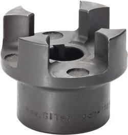Moyeu d'accouplement à griffes TRASCO SIT GRP6575A Fonte grise non percé Longueur de perçage 75 mm Ø extérieur 135 mm 1